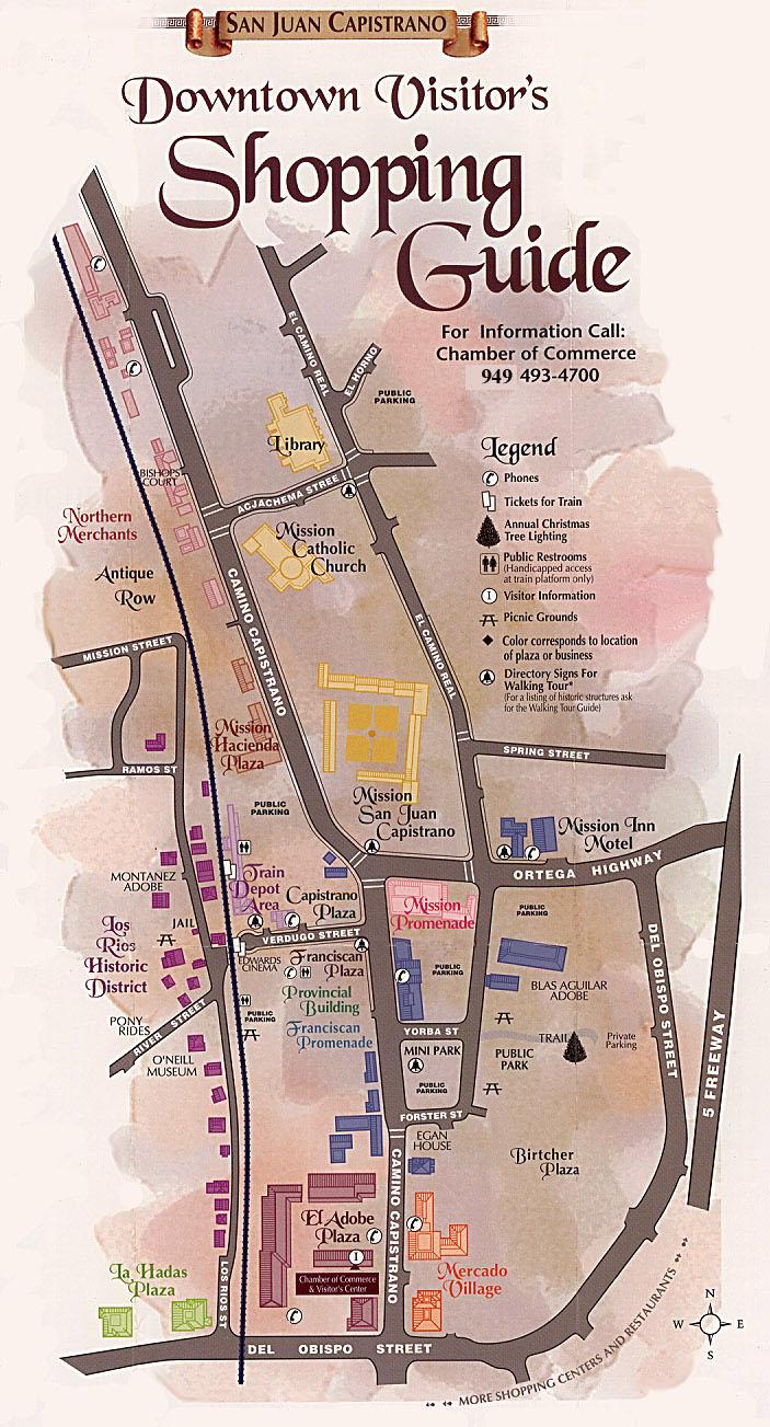 San Juan Capistrano Local Maps